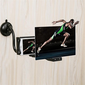 3D Phone Magnifier Bracket with Suction Cup