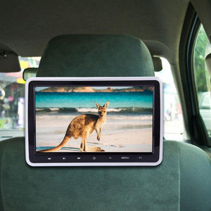 Car Headrest DVD Player Monitor TV System