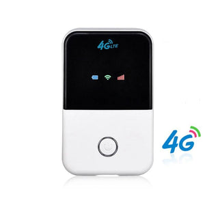 Portable 4G WiFi Router With Sim Card