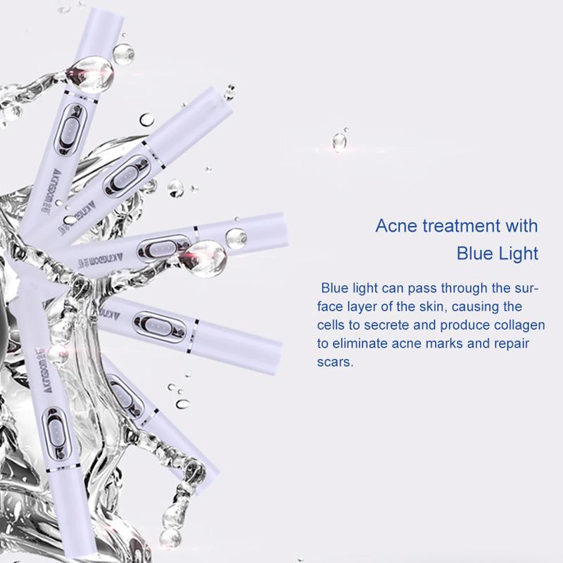 Blue Light Laser Pen for Spots, Scars & Blemishes