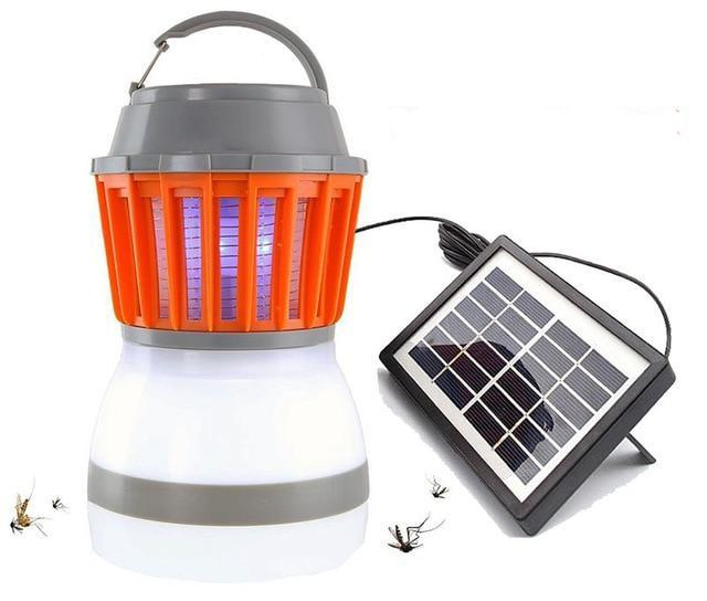 Solar Powered / Electric Mosquito Killer Lamp