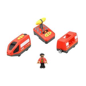 Electric Wooden Toy Train Set For Kids