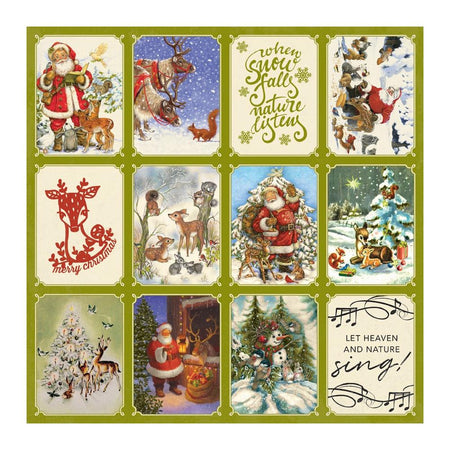 Christmas Greetings - Authentique
