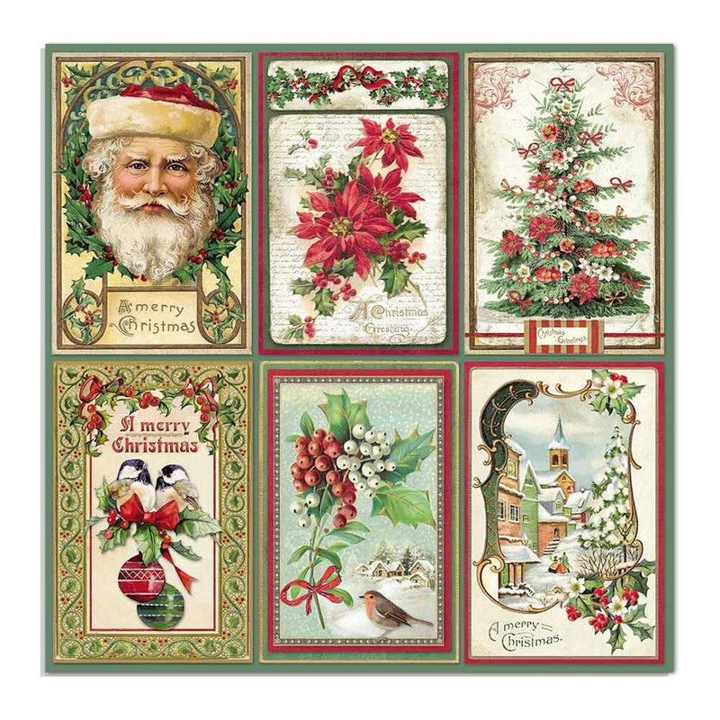 Stamperia - Classic Christmas  -  Cards   12 x 12""