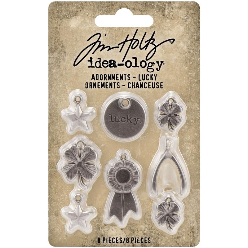 Tim Holtz - Idea-ology - Adornments - Lucky
