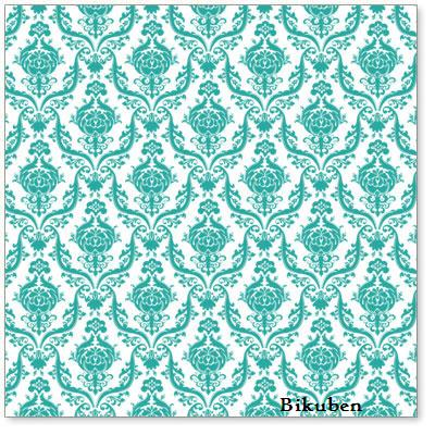 Hambly: Brocade Teal Overlay