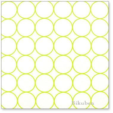 Hambly: Chic Circles Lime Overlay