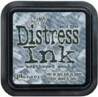 Tim Holtz Distress Ink Pute -  Weathered Wood