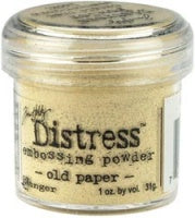 Tim Holtz Distress Embossingpulver  Old Paper