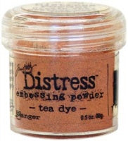 Tim Holtz Distress Embossingpulver  Tea Dye