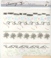 Fancy Pants Rub-ons  Motif Borders