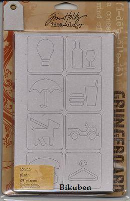 Tim Holtz: Idea-ology - ICONIC Plain Grungeboard