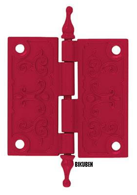 Daisy d's: Hinges - red