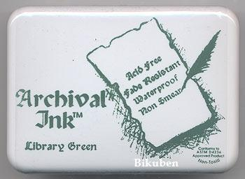 Archival Inks: LIBRARY GREEN