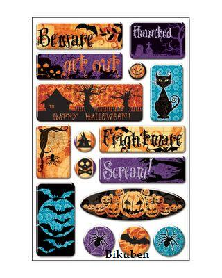 Creative Imaginations: Night Fright Halloween Epoxy Stickers