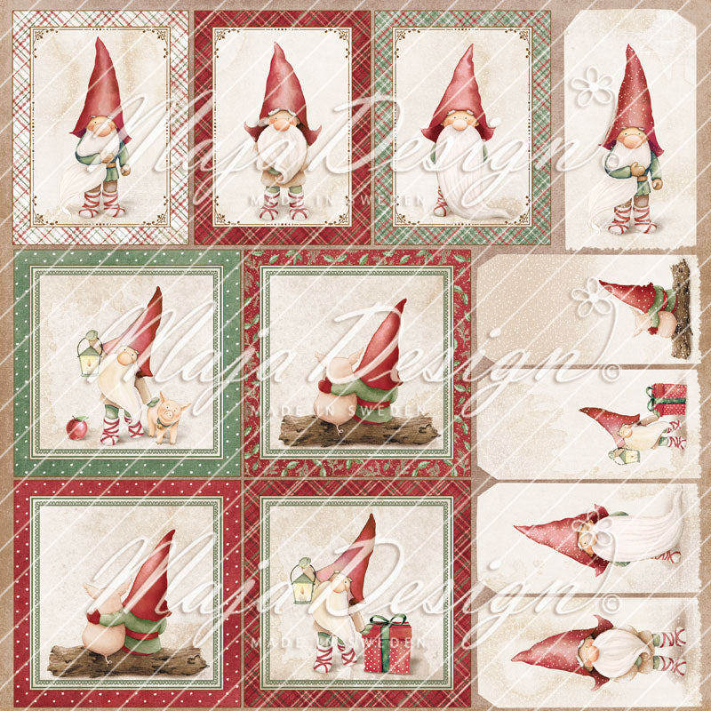 Maja Design - Traditional Christmas - Die Cuts   -   12 x 12""