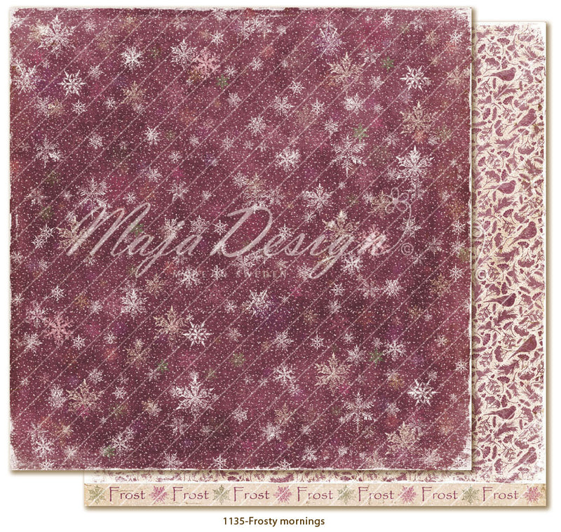 Maja Design - Winter is coming - Frosty mornings -   12 x 12""