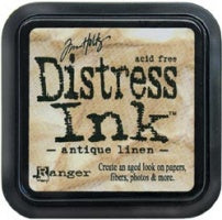 Tim Holtz: Distress Ink Pute - Antique Linen