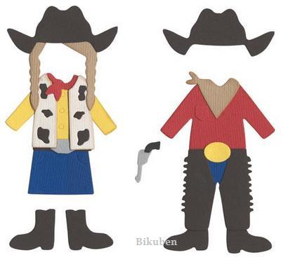 Quickutz: Western Costumes   REV-0262-D