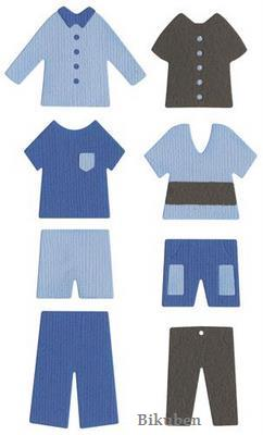 Quickutz: Paper Doll Outfits   REV-0284-D