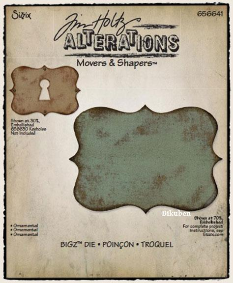 Tim Holtz Alterations:Bigz Movers & Shapers - Ornamental