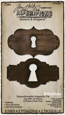 Tim Holtz Alterations: Movers & Shapers Rep. Magnet Die - Keyholes