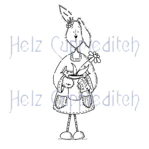 Helz Cuppleditch: Loopy Lops Plant Pot Clear Stamp