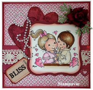 Penny Johnson: Love bubbles    Clear Stamp