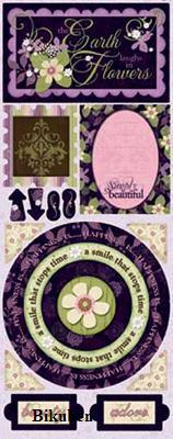 BoBunny: Jazmyne - Simply Beautiful  Cardstock Stickers