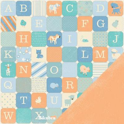 Making Memories: Pitter Patter - Oliver Alphabet    12 x 12""