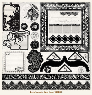 Meadowlark: Dawn - Accessories Sheet     12 x 12""