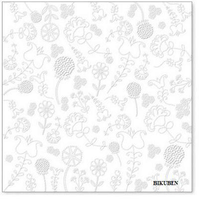 Hambly: Embroidery white overlay