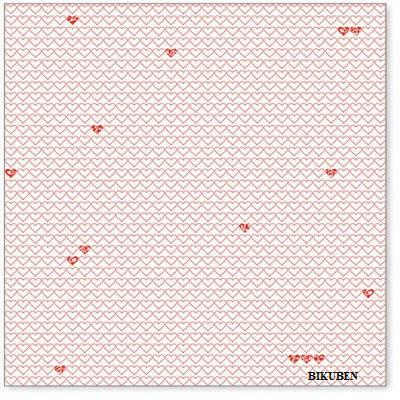Hambly: Little hearts red overlay