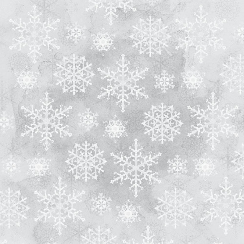 Kaisercraft - Whimsy Wishes - Snowfall -  12 x12""