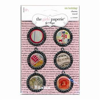 The Girls Paperie: On Holiday - Travel Charms