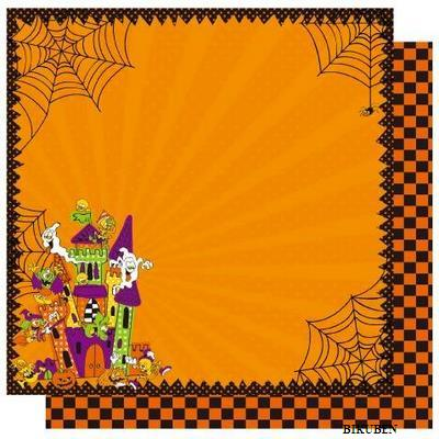 Best Creation: Haunted House    12 x 12""