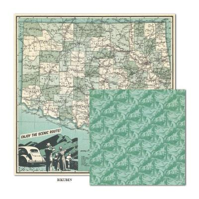 WeRMemoryKeepers: Travel Light - Scenic Route 12x12""
