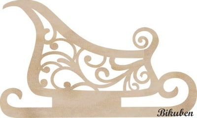 KaiserCraft - Wooden Flourishes - Sleigh