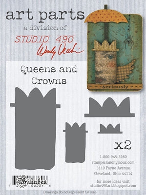 Studio 490  - Wendy Vecchi - ART parts - Queens and Crowns