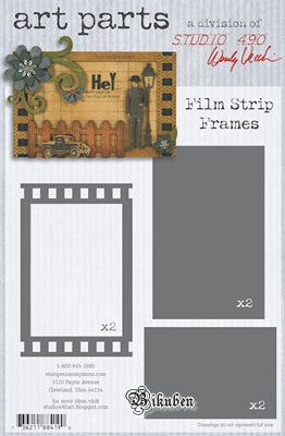 Studio 490 - Wendy Vecchi - ART parts - Film Strip Frames