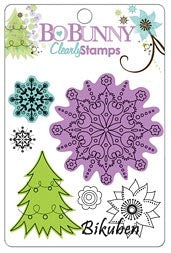 BoBunny: Winter Joy - Clear Stamps