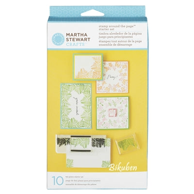 Martha Stewart: Stamp Around The Page Starter Set