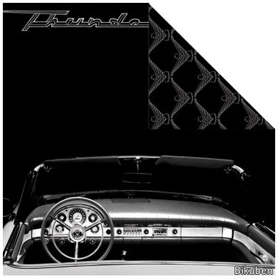 Creative Imaginations - Ford Enthusiast - T-Bird Interior 12x12""