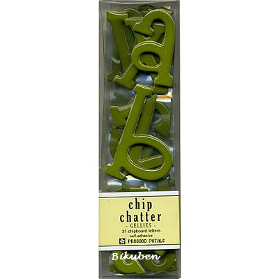Chip Chatter Gellies: Lime