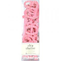 Chip Chatter Gellies: Fuscia Stripe