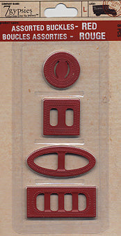 Assorted Buckles RED