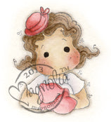 Magnolia - Special Moments - Tilda with Little Hat - Stamp
