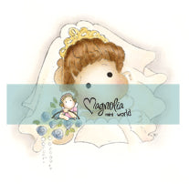Magnolia - Special Moments - Mini World - DooBeePops Bride Tilda - Stamp