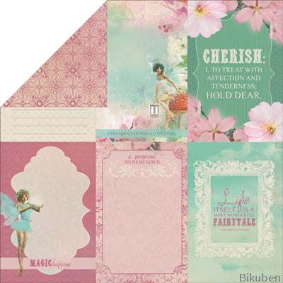 KaiserCraft - Enchanted Garden - Soft Whisper 12x12""