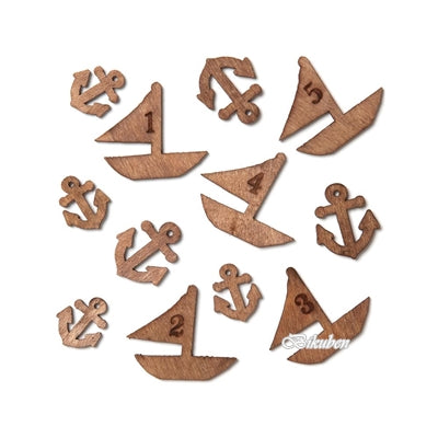 Studio Calico - Wood Veneer - Boats & Anchors